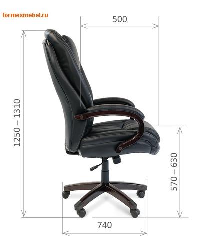 Кресло руководителя Chairman CH-408 (фото, вид 3)