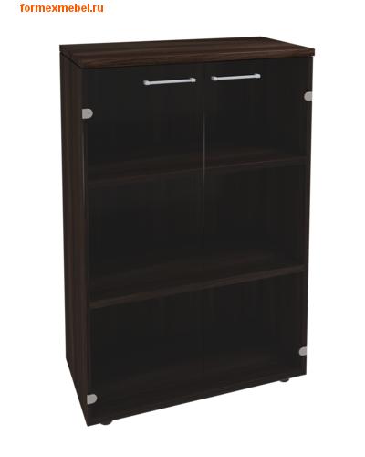 Шкаф для документов KB206 средний со стеклом (фото, вид 1)