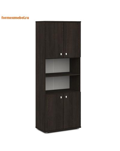 Шкаф для документов ЭКСПРО V-605 высокий полуоткрытый (фото, вид 3)