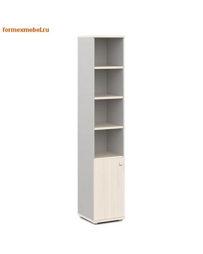 Шкаф для документов ЭКСПРО V-503лев./прав. узкий полуоткрытый (фото, вид 1)
