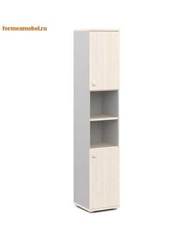 Шкаф для документов ЭКСПРО V-504 узкий полузакрытый (фото, вид 1)