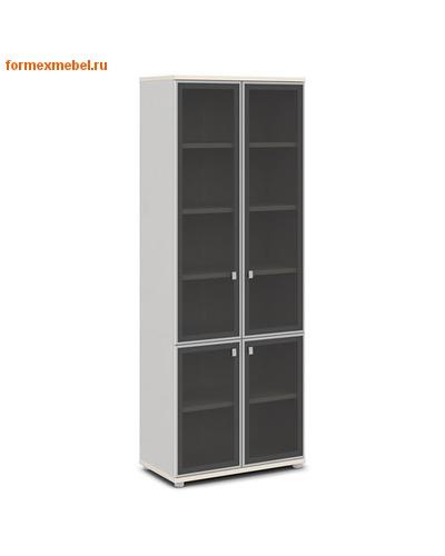 Шкаф для документов ЭКСПРО V-612 со стеклом (фото, вид 1)