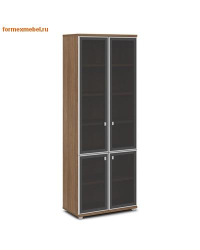 Шкаф для документов ЭКСПРО V-612 со стеклом (фото, вид 2)