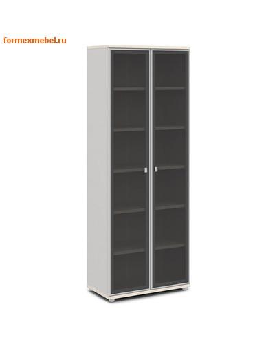 Шкаф для документов ЭКСПРО V -611 высокий со стеклом (фото, вид 1)