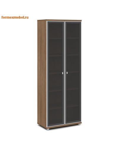 Шкаф для документов ЭКСПРО V -611 высокий со стеклом (фото, вид 2)