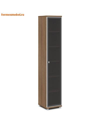 Шкаф для документов ЭКСПРО V-506 узкий со стеклом (фото, вид 1)
