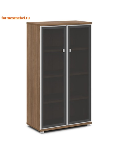 Шкаф для документов ЭКСПРО V-665 средний со стеклом (фото, вид 1)