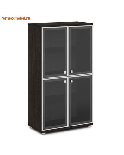 Шкаф для документов ЭКСПРО V-669 средний со стеклом (фото, вид 2)