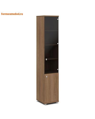 Шкаф для документов ЭКСПРО V-502лев./прав узкий со стеклом (фото, вид 1)