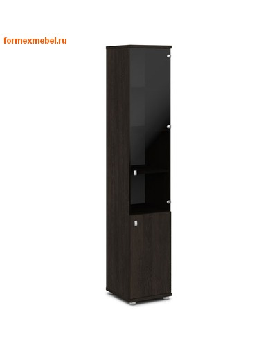 Шкаф для документов ЭКСПРО V-502лев./прав узкий со стеклом (фото, вид 2)