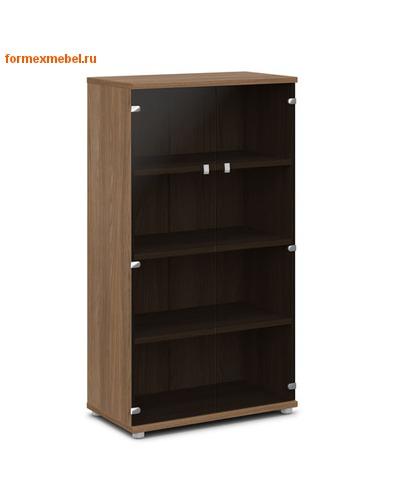 Шкаф для документов ЭКСПРО V-667 средний со стеклом (фото, вид 1)