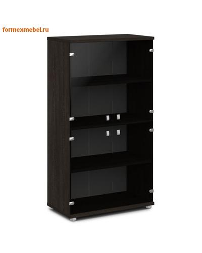 Шкаф для документов ЭКСПРО V-668 средний со стеклом (фото, вид 2)