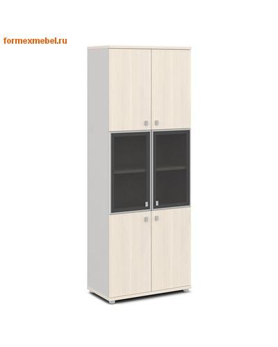 Шкаф для документов ЭКСПРО V-613 Шкаф со стеклом (фото, вид 1)