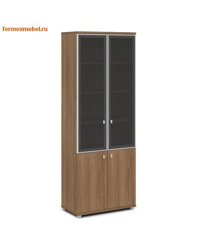 Шкаф для документов ЭКСПРО V-614 со стеклом (фото, вид 2)