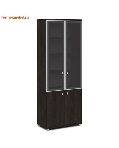 Шкаф для документов ЭКСПРО V-614 со стеклом (фото, вид 3)