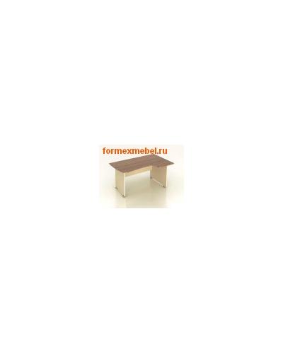 Стол рабочий эргономичный К29 136 см правый (фото, вид 1)
