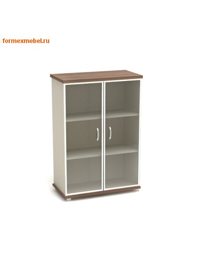 Шкаф для документов К55 средний со стеклом (фото, вид 1)