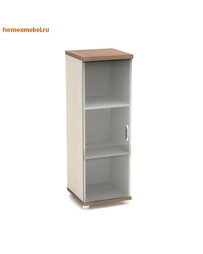 Шкаф для документов К56 узкий средний со стеклом (фото, вид 1)
