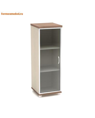 Шкаф для документов К54 узкий средний со стеклом (фото, вид 1)