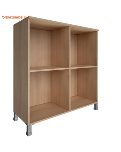 Шкаф для документов квадратный со стеклом LT-SD 4R white (фото, вид 1)