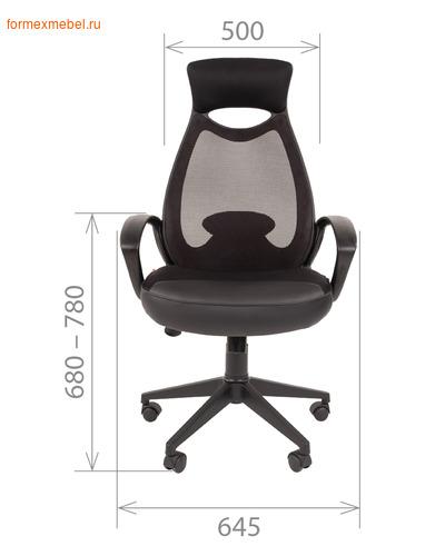Компьютерное кресло Chairman СН-840 Black (фото, вид 1)