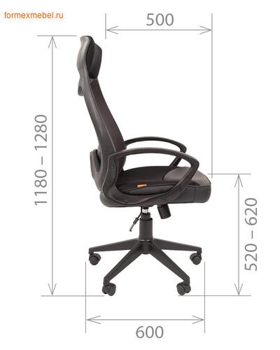 Компьютерное кресло Chairman СН-840 Black (фото, вид 2)