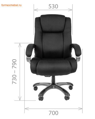 Кресло руководителя Chairman CH 410 (фото, вид 3)