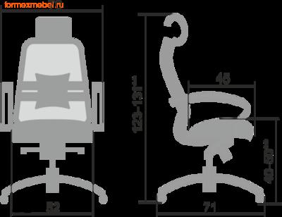 Компьютерное кресло МЕТТА Samurai S-2.04 (фото, вид 1)