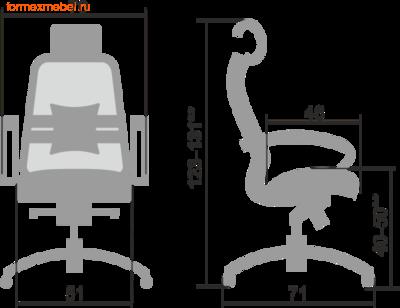 Компьютерное кресло МЕТТА Samurai SL-2.04 (фото, вид 1)