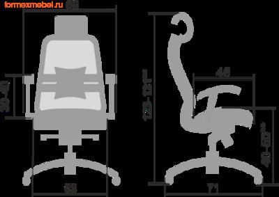 Компьютерное кресло МЕТТА Samurai SL-3.04 (фото, вид 1)
