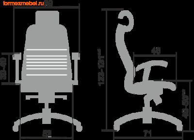 Компьютерное кресло МЕТТА Samurai K-3.04 (фото, вид 4)