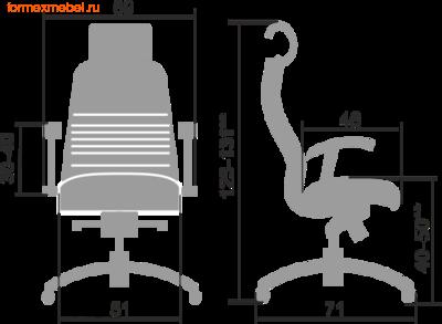 Компьютерное кресло МЕТТА Samurai KL-3.04 (фото, вид 1)