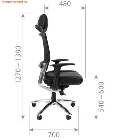 Компьютерное кресло Chairman CH Ergo 281 (фото, вид 1)