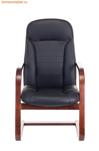 Кресло для посетителей офисное Бюрократ Т-9923Walnut-AV Bl (фото, вид 1)
