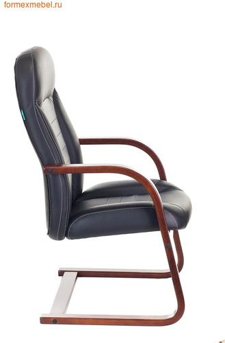 Кресло для посетителей офисное Бюрократ Т-9923Walnut-AV Bl (фото, вид 2)