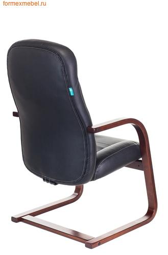 Кресло для посетителей офисное Бюрократ Т-9923Walnut-AV Bl (фото, вид 3)