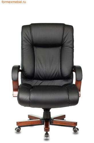 Кресло руководителя Бюрократ T-9925 Walnut Black (фото, вид 1)