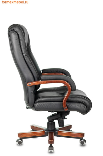Кресло руководителя Бюрократ T-9925 Walnut Black (фото, вид 2)