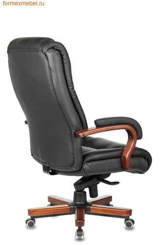 Кресло руководителя Бюрократ T-9925 Walnut Black (фото, вид 3)