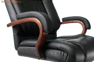 Кресло руководителя Бюрократ T-9925 Walnut Black (фото, вид 4)