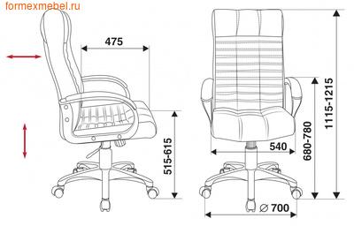 Кресло руководителя Бюрократ KB-10/Black (фото, вид 4)