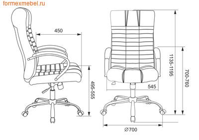 Кресло руководителя Бюрократ KB-10 SL (фото, вид 5)