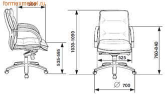 Компьютерное кресло Бюрократ T-9927 Low (фото, вид 4)