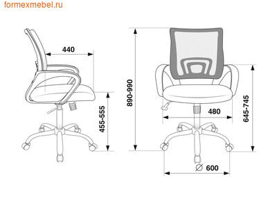 Компьютерное кресло Бюрократ CH-695N-SL (фото, вид 3)