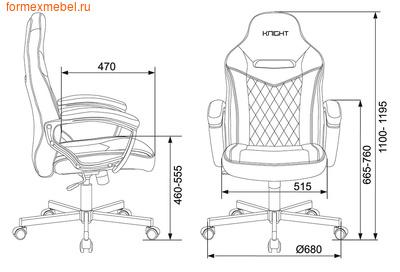 Компьютерное игровое кресло Бюрократ Viking 6 Knight (фото, вид 6)
