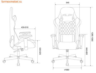 Компьютерное игровое кресло Бюрократ Viking 7 Knight (фото, вид 6)