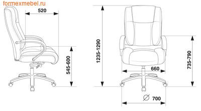 Кресло руководителя Бюрократ T-9925SL (фото, вид 4)