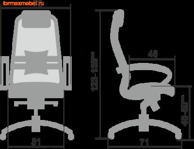 Компьютерное кресло МЕТТА Samurai SL-1.04 (фото, вид 1)