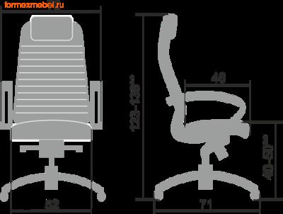 Компьютерное кресло МЕТТА Samurai K-1.04 (фото, вид 1)