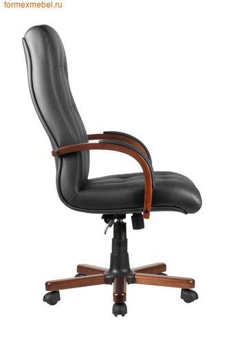 Кресло руководителя Рива M 165 A черное (фото, вид 3)